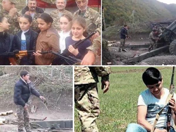 Ermənistan öz ölkəsində də uşaqların yaşamaq haqqını əlindən alır - FOTO - VİDEO