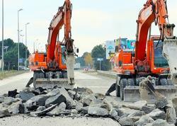 M1 magistralında təmir-bərpa işləri davam etdirilir - FOTO