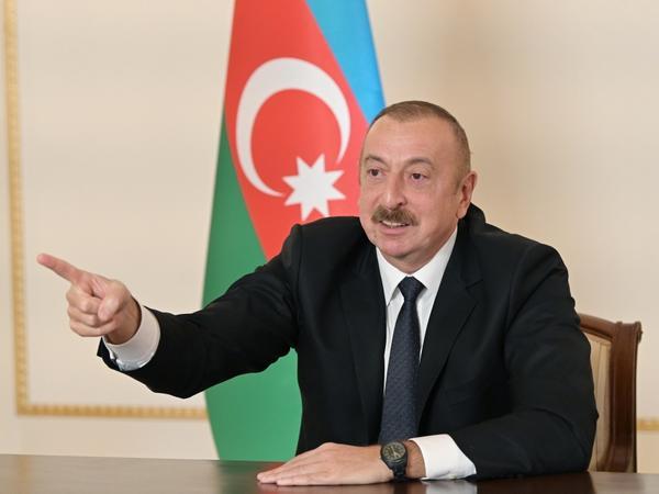 """Prezident İlham Əliyev: """"Biz döyüş meydanında tarixi ədaləti bərpa edirik"""""""