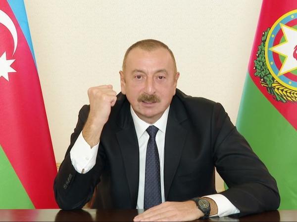 Prezident İlham Əliyev: Düşmən bizim qabağımızdan qaçır və qaçacaq, çünki biz haqlıyıq