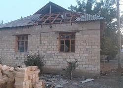 Ermənistanın ağır artilleriya zərbələri nəticəsində Bərdədə 5 fərdi evə ciddi ziyan dəyib - VİDEO - FOTO