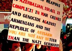 Ermənilərin bu şüarı ABŞ-da ciddi narazılıqla qarşılandı - FOTO