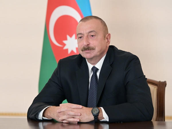 """Prezident İlham Əliyev: """"Ermənistan rəhbərliyi işğalçı siyasətdən imtina etsə, barışıq mümkündür"""""""