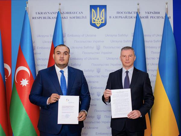 Azərbaycanda Ukraynanın birinci Fəxri konsulluğu açılır