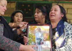 Bərdə 7 yaşlı Aysuyla vidalaşdı - YENİLƏNİB - VİDEO - FOTO