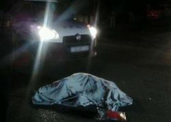 Bakıda avtobus piyadanı vuraraq öldürdü