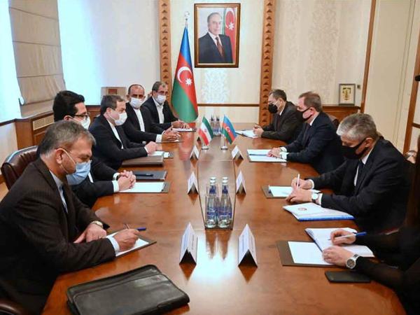 Ceyhun Bayramov İran Prezidentinin xüsusi elçisi ilə görüşüb - FOTO