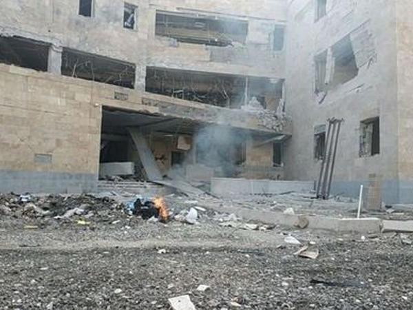 """Xankəndidə doğum evinin bombalanması barədə <span class=""""color_red"""">feyk FOTO</span>"""