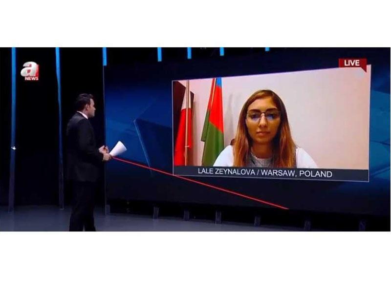 Ermənistanın Azərbaycana qarşı təcavüzkar siyasəti Polşa mediasında