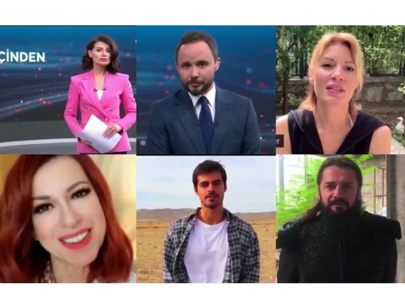 """""""Qarabağ azadlığına qovuşana qədər bizə yaşamaq haramdır"""" - Türkiyəli məşhurlar"""