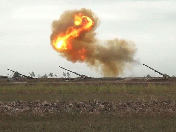 Qubadlı rayonunun ərazisi Ermənistan ərazisindən artilleriya atəşinə tutulur