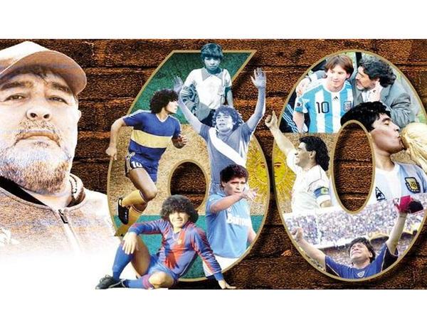 """""""Futbol Tanrısı"""" 60 yaşında"""