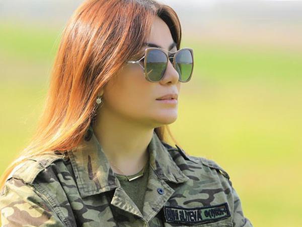 """""""Əlimdən gələni etməyə hazıram&quot; - Ruhi Əliyevadan Azərbaycan Ordusuna dəstək - <span class=""""color_red"""">FOTO</span>"""