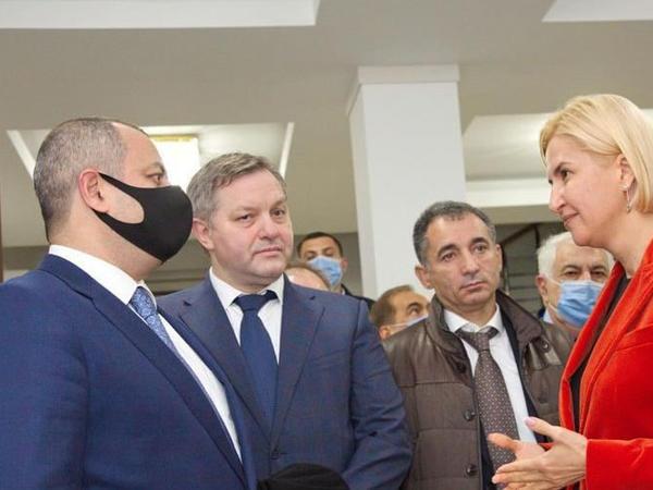 Azərbaycan parlamentinin deputatları Qaqauziyada bir sıra görüşlər keçiriblər - FOTO