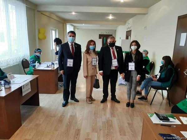 """&quot;Gürcüstanda parlament seçkiləri tam normal davam edir&quot; - <span class=""""color_red"""">Arzu Nağıyev - FOTO</span>"""
