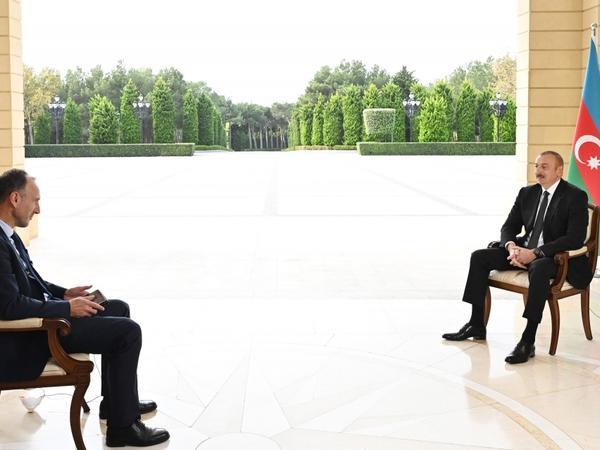 """Prezident İlham Əliyev: """"Bizim cavabımız sərt idi, amma onlar buna layiq idilər"""""""