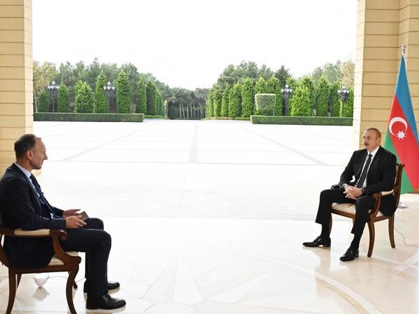 """Prezident İlham Əliyev: """"Bu vaxtadək """"Human Rights Watch"""" və """"Amnesty International"""" təşkilatları Azərbaycana qarşı çox aqressiv idi"""""""