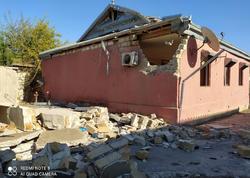 Ermənilər Tərtərin Əskipara kəndini artilleriya atəşinə tutdu, 20 ev tam dağıldı