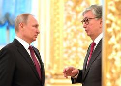 Putin və Tokayev Dağlıq Qarabağdakı vəziyyətin tənzimlənməsini müzakirə ediblər