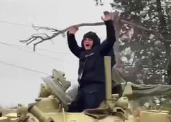 Azərbaycan Ordusu Ağdama girdi - VİDEO