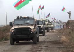 Ordumuz Ağdama Azərbaycan Bayrağını sancdı - VİDEO - FOTO
