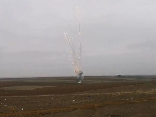 Rusiyalı zabit Qarabağda mina partlaması nəticəsində yaralanıb