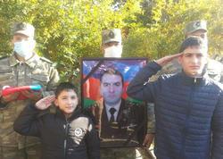 Şəhid polkovnik dəfn olundu - FOTO