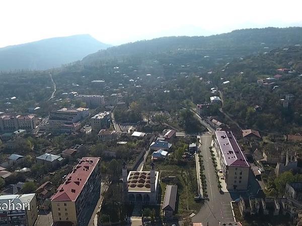 """Şuşa şəhərinin havadan görüntüsü - <span class=""""color_red"""">VİDEO</span>"""