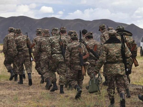 Ermənistan hərbi polisi: Bir çox döyüş iştirakçısı silahlarını təslim etmədi