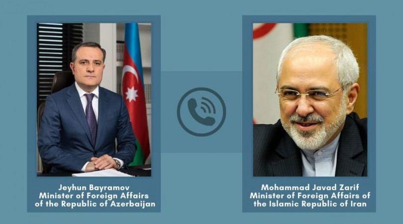 İranın XİN başçısı Ceyhun Bayramovu təbrik edib