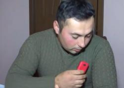 """Qazimizi ölümdən ürəyinin üstündəki telefonu qoruyub - <span class=""""color_red"""">VİDEO</span>"""