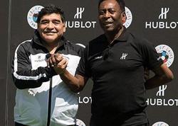 Pele Maradonanın vəfatından danışdı