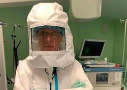 Həkim koronavirusa qarşı yeni şlem hazırladı - Ventilyatoru var