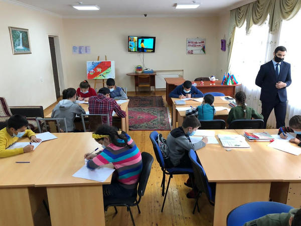 Ombudsman Aparatı uşaq evlərinə başçəkmələr həyata keçirib - FOTO