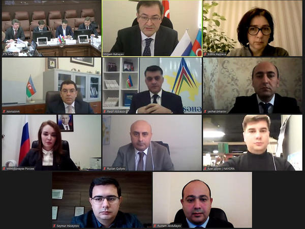 Azərbaycan  və Rusiya arasında əməkdaşlığa dair Tədbirlər planı qəbul edildi - FOTO
