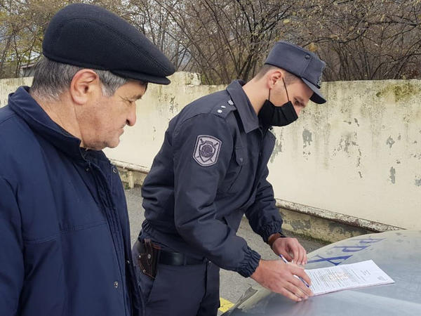 Polis Oğuzda reyd keçirib - FOTO