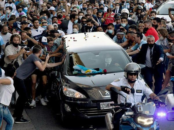 Maradonanın ölümü ilə əlaqədar istintaq başladıldı
