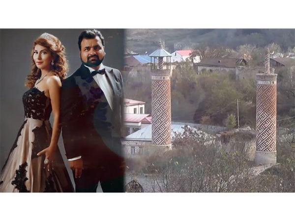 """Şəhidimizin xanımı yeni musiqisini təqdim edib - <span class=""""color_red"""">VİDEO</span>"""