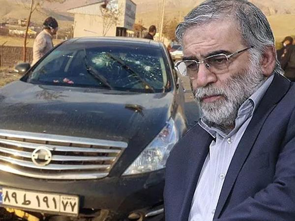 İranda nüvə aliminin öldürüldüyü yerdən FOTOlar