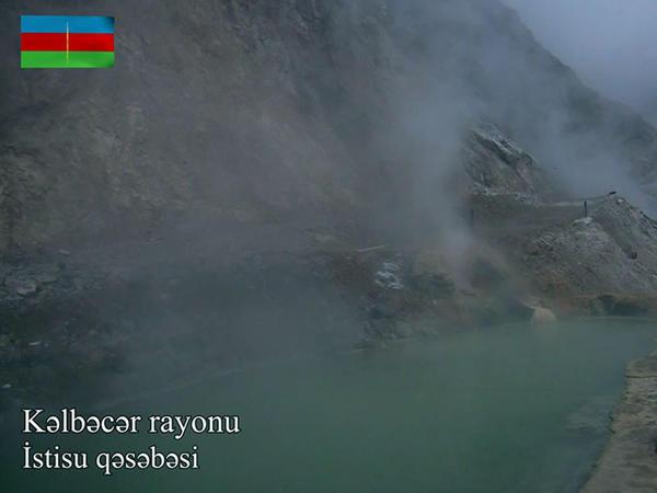 Kəlbəcər rayonunun İstisu qəsəbəsi - VİDEO