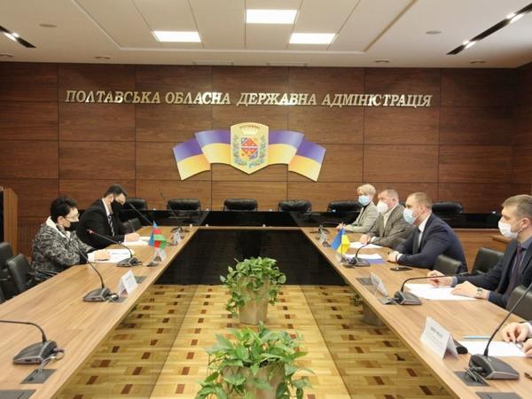 Poltavada Azərbaycanla Ukraynanın birgə investisiya layihələri müzakirə edilib - FOTO