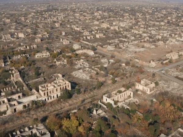 Ağdam 27 il işğal altında qaldıqdan sonra - VİDEO