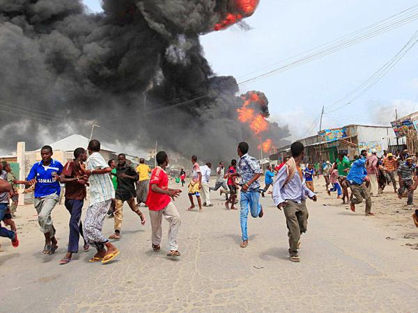 """Somalinin paytaxtında partlayış olub, <span class=""""color_red"""">6 ölü</span>"""