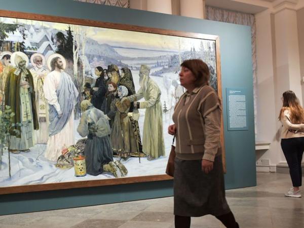 Rus rəssamın çəkdiyi ikona Londonda ağlasığmaz qiymətə satılıb