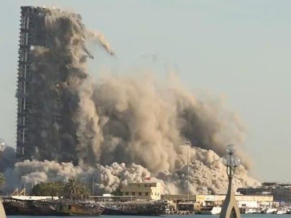 Dünya rekordu: 144 mərtəbəli bina 10 saniyəyə sökülüb