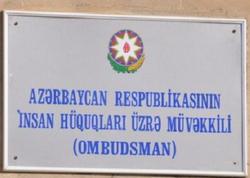 Ombudsman beynəlxalq ictimaiyyətə müraciət edib