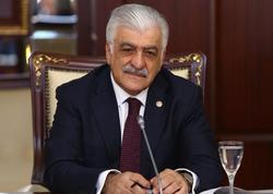 Türkiyəli deputat Şamil Ayrım Prezident İlham Əliyevə təbrik məktubu göndərib