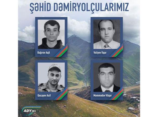 Dəmiryolçu şəhidlərimizi tanıyaq