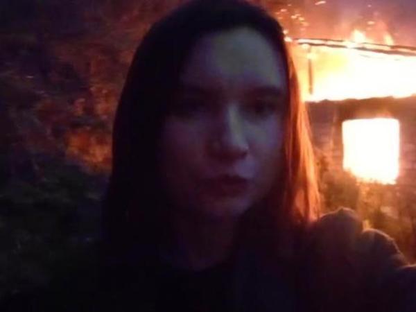 Laçından gedən ermənilər evlərini yandırdılar - VİDEO