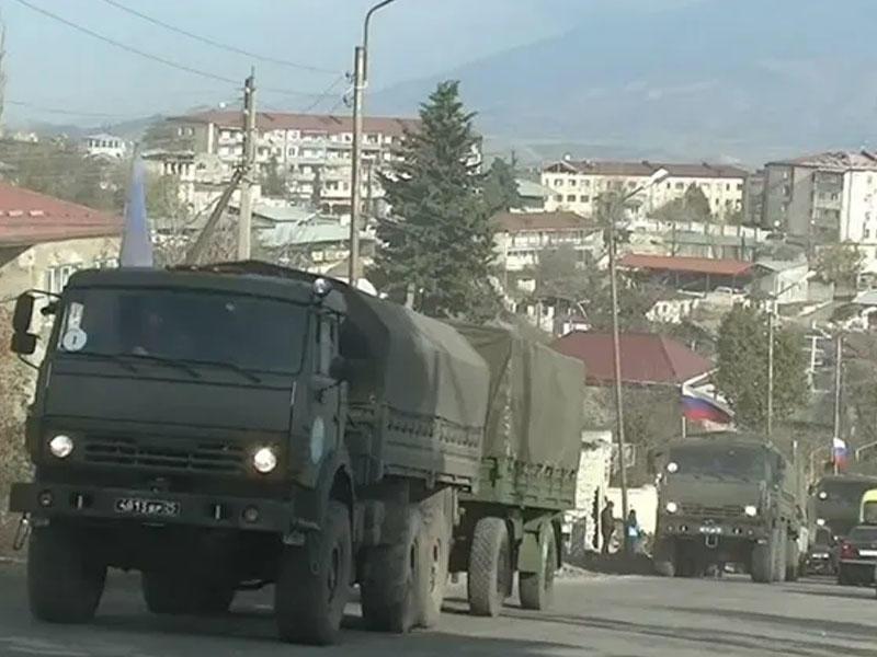 Rusiya Müdafiə Nazirliyi Xankəndidə səhra hospitalı yaradıb